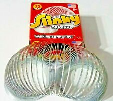 NEW The Original Classic Toy SLINKY Walking Metal Spring Toy  Ages 5+  NIB   USA