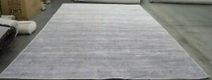 IVORY / SILVER 9' X 12' Stain on binding Rug, Reduced Price 1172567522 ADR113B-9