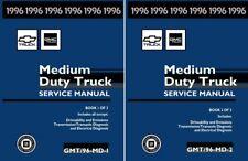 1996 chevrolet topkick, kodiak medium duty truck shop service repair manual  (fits: chevrolet c70 kodiak)