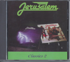 Jerusalem Classics 2 CD 'Warrior' + 'Can't Stop Us Now' Christian Metal (NEW)