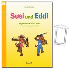Susi und Eddi 1 - Geigenschule für Kinder, Elsholz Anja - N2441 - 9783938202265