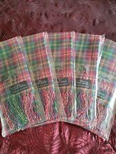 Lochcarron Scalf x 5 - 100% New Wool Made in Scotland. #