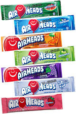 7 FLAVOURS AIRHEADS AIR HEADS AMERICAN CANDY USA SWEETS NEW ORIGINAL PACKS