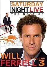 SNL Best of Will Ferrell 3 With Saturday Night Live DVD Region 1 025192037993