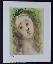 Salvador Dali Original Woodblock Hand Signed EA Purgatory 10 Divine Comedy