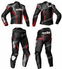 APRILIA Courses Combinaison de Moto en Cuir Moto en Cuir Veste Pantalon 48,54,60