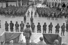 WW2 - France juin 1944 - Prise d'armes américaine à Carentan