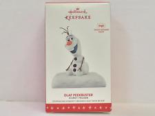 Keepsake Ornament 2016 Disney Frozen OLAF PEEKBUSTER