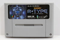 Super R Type SFC Nintendo Super Famicom SNES Japan Import US Seller I6869