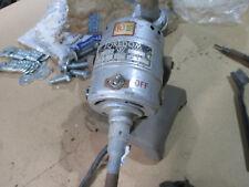 Foredom grinding tool motor with flex shaft pedestal mount 110V