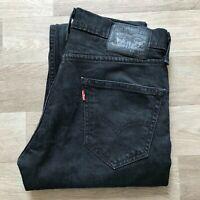 Men's Levi's 511 Slim Straight Black Jeans W30 L28 (#A951)