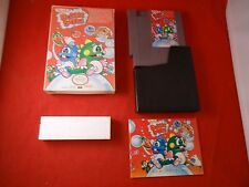 Bubble Bobble (Nintendo Entertainment System 1988) NES COMPLETE w Box manual #AB