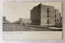 Luverne Minnesota Main Street 1910 City Drug Store Publishing