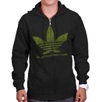 Dream Stoner Weed Marijuana Pot Graphic Gift Zipper Sweat Shirt Zip Sweatshirt
