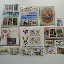 More details for 100 different aitutaki stamp collection