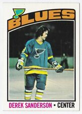 Derek Sanderson 1976/ '77 Topps #20 - St. Louis Blues
