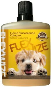 Flexwize Liquid Glucosamine Complex for Dogs & Cats for JOINT HEALTH, Arthritis