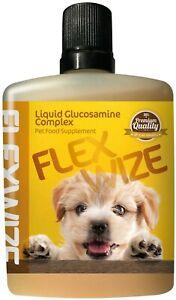 Flexwize Liquid Glucosamine Complex for Dogs | Joint Health | Arthritis
