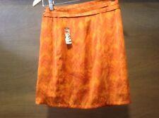 Love 21 Women's  Stylish Skirt, size XS,  orange,  NWT NEW WRAP AND SNAP SKIRT