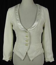 Einreihige Taillenlang Damenjacken & -mäntel ohne Muster