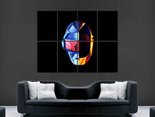 DAFT PUNK MUSIC DJS  WALL POSTER ART PICTURE PRINT LARGE