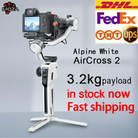 Moza AirCross 2 3-Axis Gimbal Stabilizer Alpine White Mirrorless Camera Fr Canon