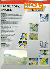 Decadry OPF-3549 Vineyard Themed A4 Letterhead Writing/Printing Paper