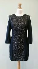 Size 10 French Connection Little Black Dress, Beaded, LBD, BNWT