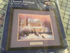 Thomas Kinkade Victorian Christmas II Winter Cross Stitch Kit Candamar Designs