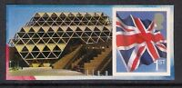 GB 2011 LS76 Indipex Union Jack Flag Smiler Sheet Single Stamp Litho s/a MNH