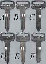 Replacement Key Blank Fits 1984 1985 1986 1987 1988 1989 1990 Yamaha Vino Riva