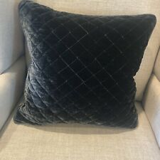 """bella notte  (one) 18"""" Throw Pillow Cover W/Insert Included. FRENCH GREY"""
