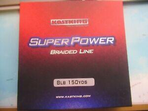 Kastking Super Power 8 LB Braided Line 150 Yards Green Brand New!!!