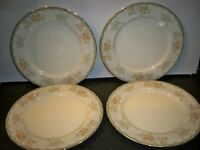 4 MIKASA IVORY CHINA 'BALMORE DINNER PLATES 10 7/8''