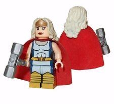**NEW** LEGO Custom Printed THOR - JANE FOSTER - Marvel Universe Minifigure