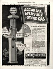 Milwaukee Gas Pump  -  Milwaukee Tank Works &   Boone Kitchen Cabinet   -  1925