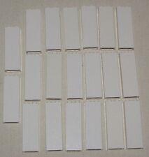 LEGO LOT OF 20 WHITE PILLARS 1 X 2 X 5 HOUSE WALL COLUMN PARTS