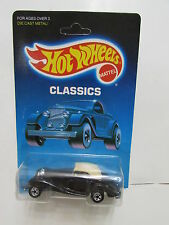 HOT WHEELS 1988 CLASSICS MERCEDES 540K BLACK