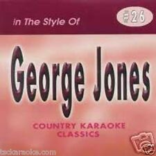 GEORGE JONES Country Karaoke CD CDG 15 Songs HE STOPPED LOVING HER TODAY