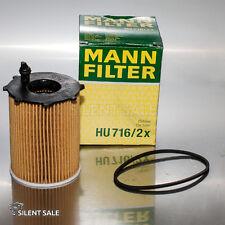 Ölfilter ORIGINAL  MANN FILTER HU 716/2x
