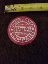 Sticker  long vintage tattoo shop  undisputed  tattoo sticker