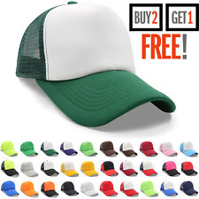 Trucker Hat Mesh Foam Cap Snapback Baseball Caps Adjustable Mens Womens Hats