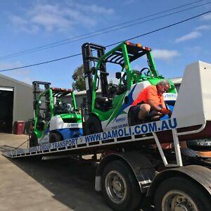 Standard Mast Toyota Forklift Hire