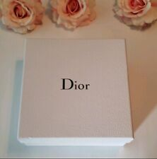 Dior White Gift Box Silver Letters