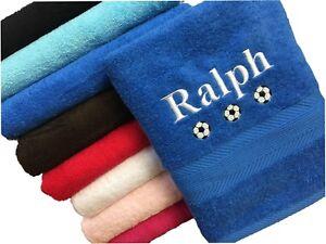 Personalised Towel, swimming, gym, school, football, sport towel