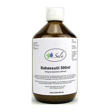 (21,80 EUR/l) Sala Babassuöl Babassu Wachs raffiniert 500 ml