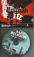 BAD RELIGION fxxK you  w/ RARE CLEAN Version USA 2013 PROMO DJ CD single MINT