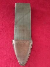 Vintage WW1 Bolo Knife Sheath Scabbard Cover Brauer Bros Dated 1918