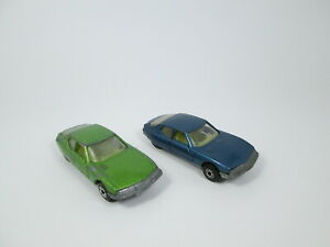 Matchbox Bulgarian Citroen SM superfast vintage diecast model Blue Green