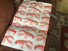 Thornback & Peel Tea Towel, Lobster, 100% Cotton